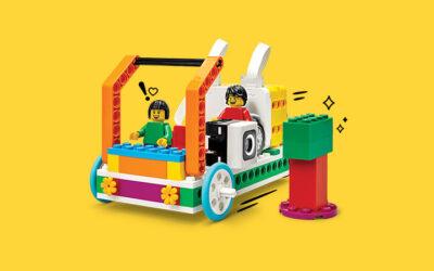 Constructing With LEGO® toys Enhances Fine Motor & Gross Motor Skills